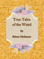 True Tales of the Weird