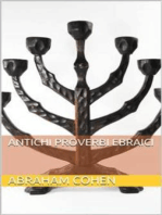 Proverbi ebraici antichi (translated)