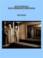 Vivere la Differenza. Essere e Molteplicità in Gilles Deleuze