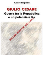 Giulio Cesare. Guerra tra la Repubblica e un potenziale Re. Bellum africum riciclato
