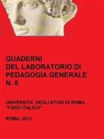 Quaderni del Laboratorio di Pedagogia Generale, 8