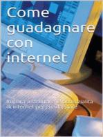 Come guadagnare con internet