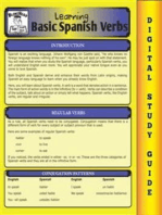 Spanish Verbs (Blokehead Easy Study Guide)