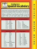 Spanish Vocabulary (Blokehead Easy Study Guide)