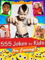 555 Jokes for Kids - Funny, Hilarious and Clean