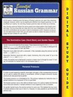 Russian Grammar ( Blokehead Easy Study Guide)