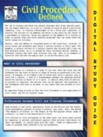 Civil Procedure (Blokehead Easy Study Guide)