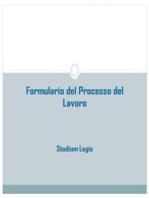 Formulario del Processo del Lavoro