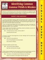 Common Grammar Pitfalls & Mistakes (Blokehead Easy Study Guide)