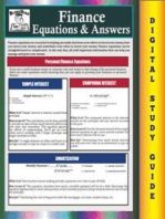 Finance Equations & Answers ( Blokehead Easy Study Guide)