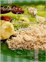 Dolci e Bevande, Cucina Vegetariana Indù