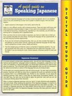 Japanese Grammar ( Blokehead Easy Study Guide)