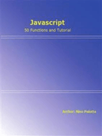 Javascript - 50 functions and tutorial