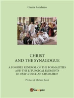 Christ and the synagogue