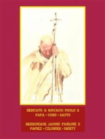 Dedicato a Giovanni Paolo II