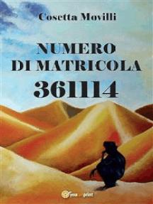 Numero di matricola 361114