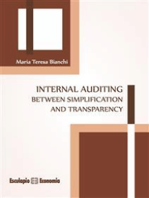 Internal auditing between simplification and transparency