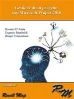 Gestione di un progetto con Microsoft Project 2010 - Advanced