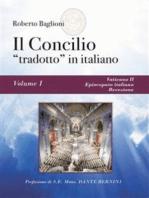"""Il concilio """"tradotto"""" in italiano. Vol. 1 Vaticano II, Episcopato italiano, recezione"""