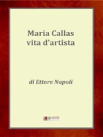 Maria Callas, una vita d'artista