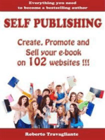 Self Publishing - Create, Promote and Sell your book on 102 websites !!!