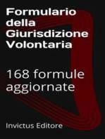 Formulario della giurisdizione volontaria