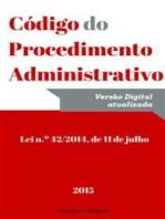 Código do Procedimento Administrativo (2015)