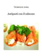 Antipasti con il salmone