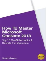 How To Master Microsoft OneNote 2013