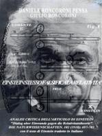 Analisi critica dell'articolo di Einstein_ITALIANO