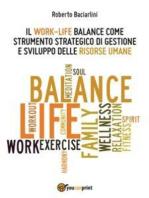 Il Work- life Balance