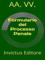 Formulario del Processo Penale