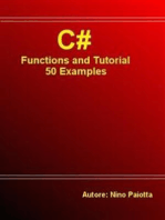 C# Functions and Tutorial - 50 Examples