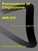 Formulario di cognizione