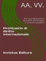 Prontuario di diritto internazionale