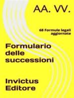 Formulario delle successioni