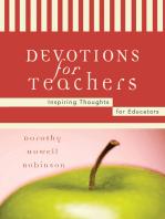 Devotions For Teachers
