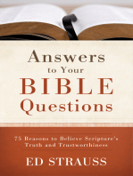 Answers to Your Bible Questions