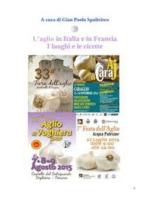 L'aglio in Italia e in Francia - I luoghi e le ricette