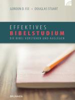 Effektives Bibelstudium