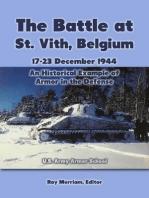 The Battle At St. Vith, Belgium, 17-23 December 1944