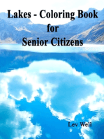 Lakes - Coloring Book for Senior Citizens