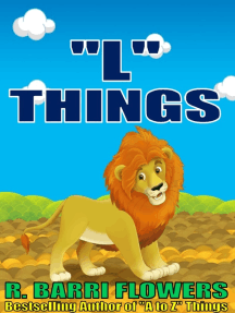 """L"" Things (A Children's Picture Book)"