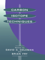 Carbon Isotope Techniques