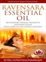 Ravensara Essential Oil Respiratory Healer, Promotes Detoxification, Plus+ How to Use Guide & Recipes!