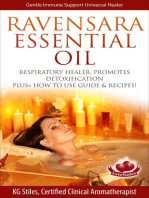 Ravensara Essential Oil Respiratory Healer, Promotes Detoxification, Plus+ How to Use Guide & Recipes!