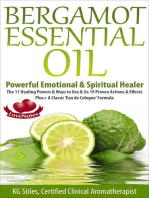 Bergamot Essential Oil Powerful Emotional & Spiritual Healer