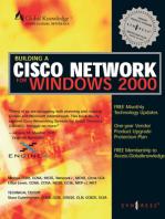 Building CISCO Networks for Windows 2000