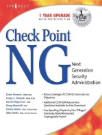 Checkpoint Next Generation Security Administration
