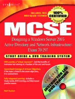 MCSE Designing a Windows Server 2003 Active Directory and Network Infrastructure(Exam 70-297): Study Guide & DVD Training System